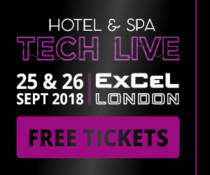 Hotel & Spa Tech Live – 25th & 26th September 2018, ExCeL, London