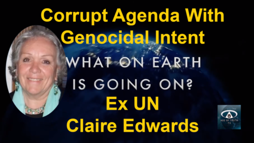 Corrupt Agenda with Genocidal Intent